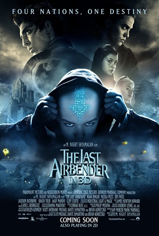 The Last Airbender Movie Poster [Coming Soon]